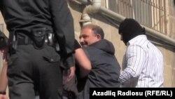 Арестованный журналист Рауф Миркадыров, 6 мая 2014.