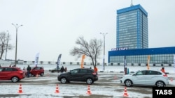 Russia -- A view of the AvtoVAZ car plant in Togliatti, December 15, 2015