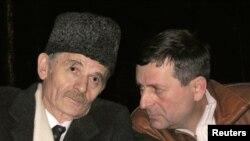 Mustafa Djemilev və Ahtem Ciygoz