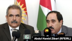 وزيرا الصحة الاردني والكردستاني