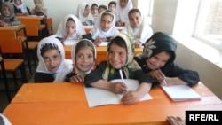 Ученицы школы, открытой афганкой из Германии.