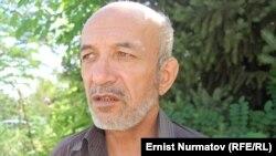 Правозащитник Равшан Гапиров. Ош, 2 сентября 2011 года.