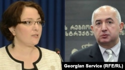 Уже бывшие члены правительства Тина Хидашели и Паата Закареишвили были вынуждены покинуть министерские должности из-за партийной принадлежности