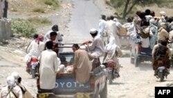 FILE: Pakistani Taliban fighters in Mohmand tribal region in 2008.