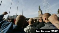 Митинг активистов движения «Русские» (архив)