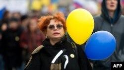 Москвадагы митингдин катышуучусу