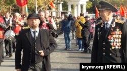 «Живий» Ленін на мітингу в Севастополі, 7 листопада 2017 року