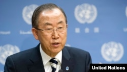 بان گی مون میگوید که بازرسان سازمان ملل نمونهها و مستندات خود را در اختیار اعضای شورای امنیت و دیگر اعضای سازمان ملل قرار خواهند داد.