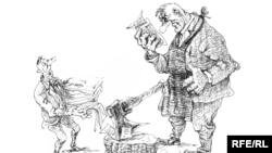 Карикатура Михайла Златковського