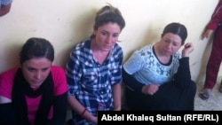 Around 5,000 Yazidi women and girls have been kidnapped by IS militants, who sell them as sex slaves.