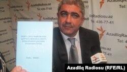 Korrupsiya Qarşı Mübarizə Fondunun icraçı direktoru Vasif Mövsümov.