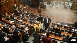 Nga seanca e Kuvendit të Kosovës më 8 tetor.