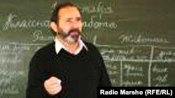 Belgium - The Chechen linguist, Dr. Daoud Baysultanov, 07Feb2013.