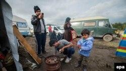 """Izbjeglički kamp """"Džungla"""" u Calaisu"""