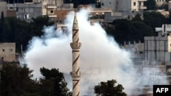 Kobane na udaru granata