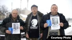Раман Юргель, Уладзімір Хільмановіч і Віктар Сазонаў, Фота Вясна
