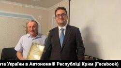 Микола Семена (л) і Антон Кориневич (п)
