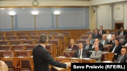 Premijerski sat u Skupštini Crne Gore
