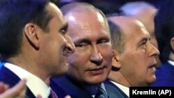 Нарышкин, глава СВР, Путин, президент РФ, Бортников, глава ФСБ