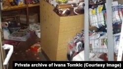 Demolirana prodavnica porodice Tomkić