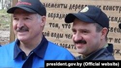 Аляксандар і Віктар Лукашэнкі