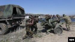 Донбассдаги украин аскарлари.