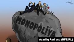 Monopoliya. Karikatura