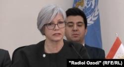 Galina Perfilyeva, the WHO representative in Dushanbe