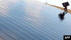 Встановлення «сонячних» панелей, Вайнбург, Франція