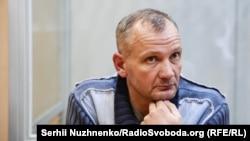 Іван Бубенчик під час засідання суду. Київ, 3 квітня 2018 року
