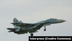 Российский истребитель Су-34. Иллюстративное фото.