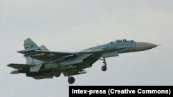 Россиянинг Су-34 жанговар учоғи (иллюстратив сурат).