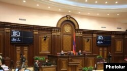 Armenia -- A session of the National Assembly, 25May2011.