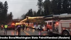 Катастрофа сталася 18 грудня вранці за місцевим часом приблизно за 65 кілометрів від Сієтла