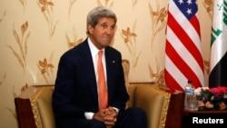 وزير الخارجية الاميركي جون كيري