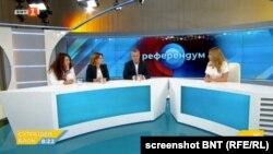 Генералният директор на БНТ Емил Кошлуков коментира случая на следващата сутрин