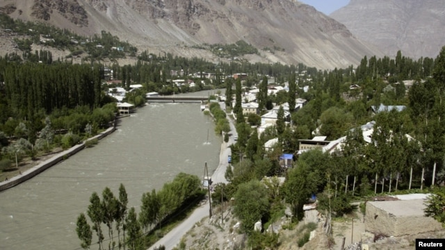 The town of Khorog in Gorno-Badakhshan (file photo)