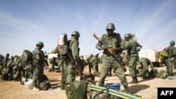 Mali -- Trupat ushtarake të Malit në Timbuktu