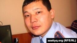 Алмат Имангалиев, руководитель пресс-службы Актюбинского областного департамента внутренних дел.
