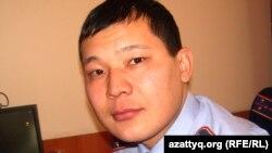Алмат Имангалиев, пресс-секретарь департамента внутренних дел Актюбинской области.