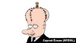 The King's Speech had an important omission. (cartoon by Sergei Elkin)