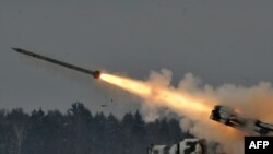 The Smerch can fire 12 rockets in a single salvo