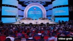 Сессия Ассамблеи народа Казахстана. Астана, 28 апреля 2018 года.