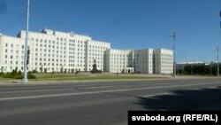 бязьлюдная плошча Леніна