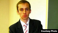 Belarusian opposition activist Syarzhuk Paulyukevich