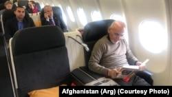 محمد اشرف غنی رئیس جمهوری افغانستان حین سفر به سویس. Jan.21.2020