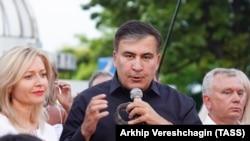 Михаил Саакашвили, бывший губернатор Одесской области Украины и бывший президент Грузии.