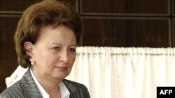 Premierul Zinaida Greceanii