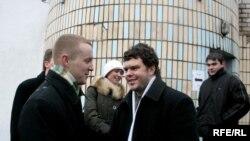 Уладзімер Сяргееў выходзіць на волю, 31.01.