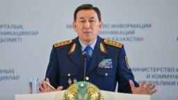 Ішкі істер министрі Қалмұханбет Қасымов. Астана қаласы, 14 қыркүйек 2018 жыл